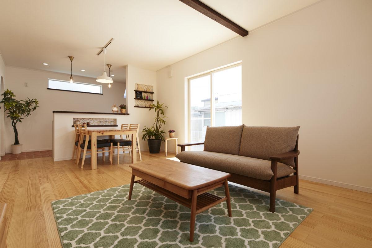 注文住宅レポート 柴田町 #005「憧れをカタチにする南欧風のナチュラルな家」