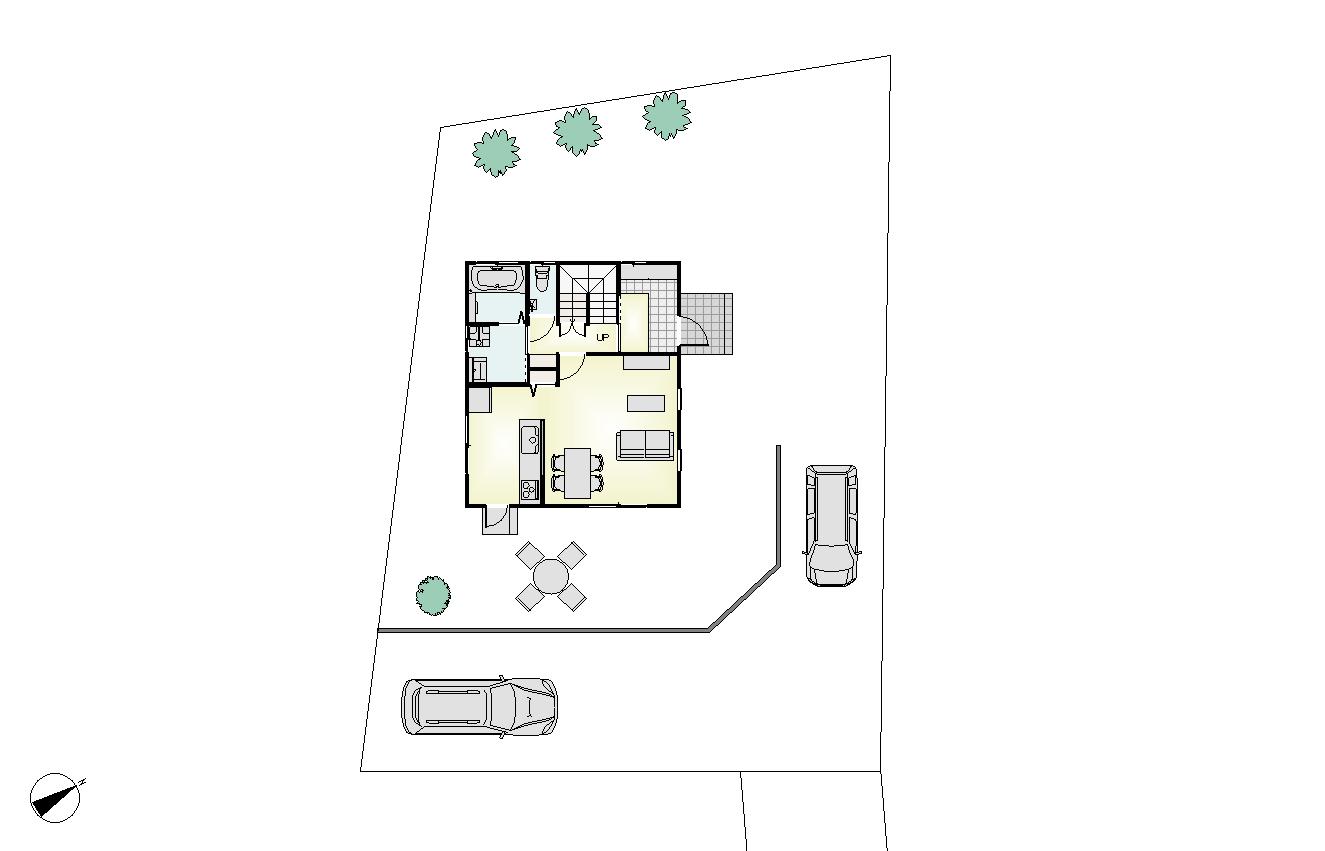 金ケ瀬MODEL配置図