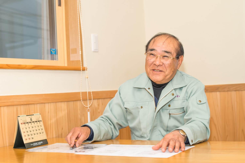 渡建 代表取締役社長 渡邊勇雄